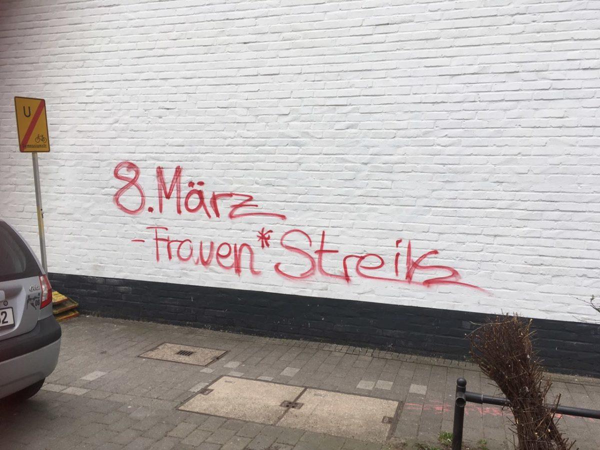 Aktionsübersicht Frauen*streik