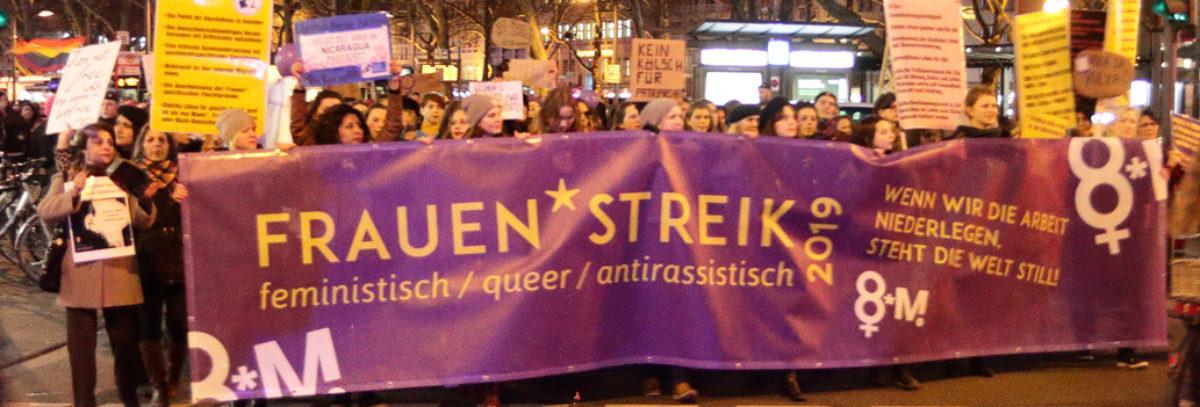 Feministischer Streik Köln