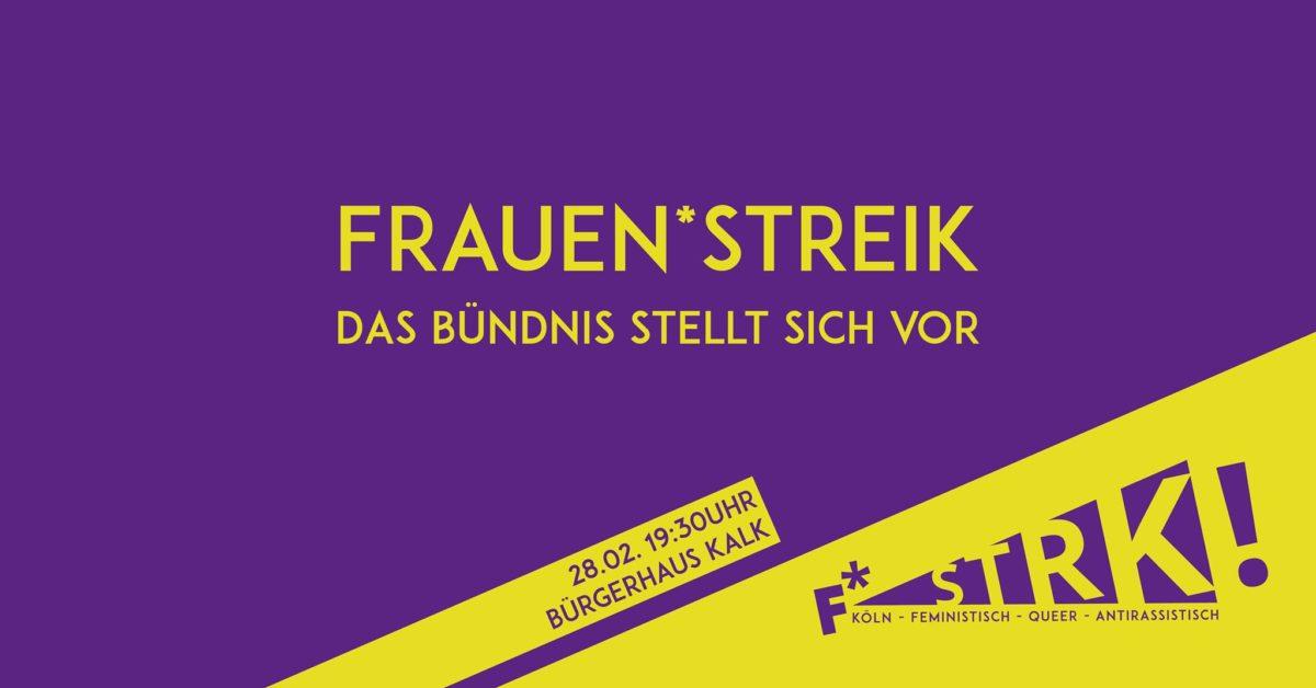 Feministischer Streik Köln stellt sich vor